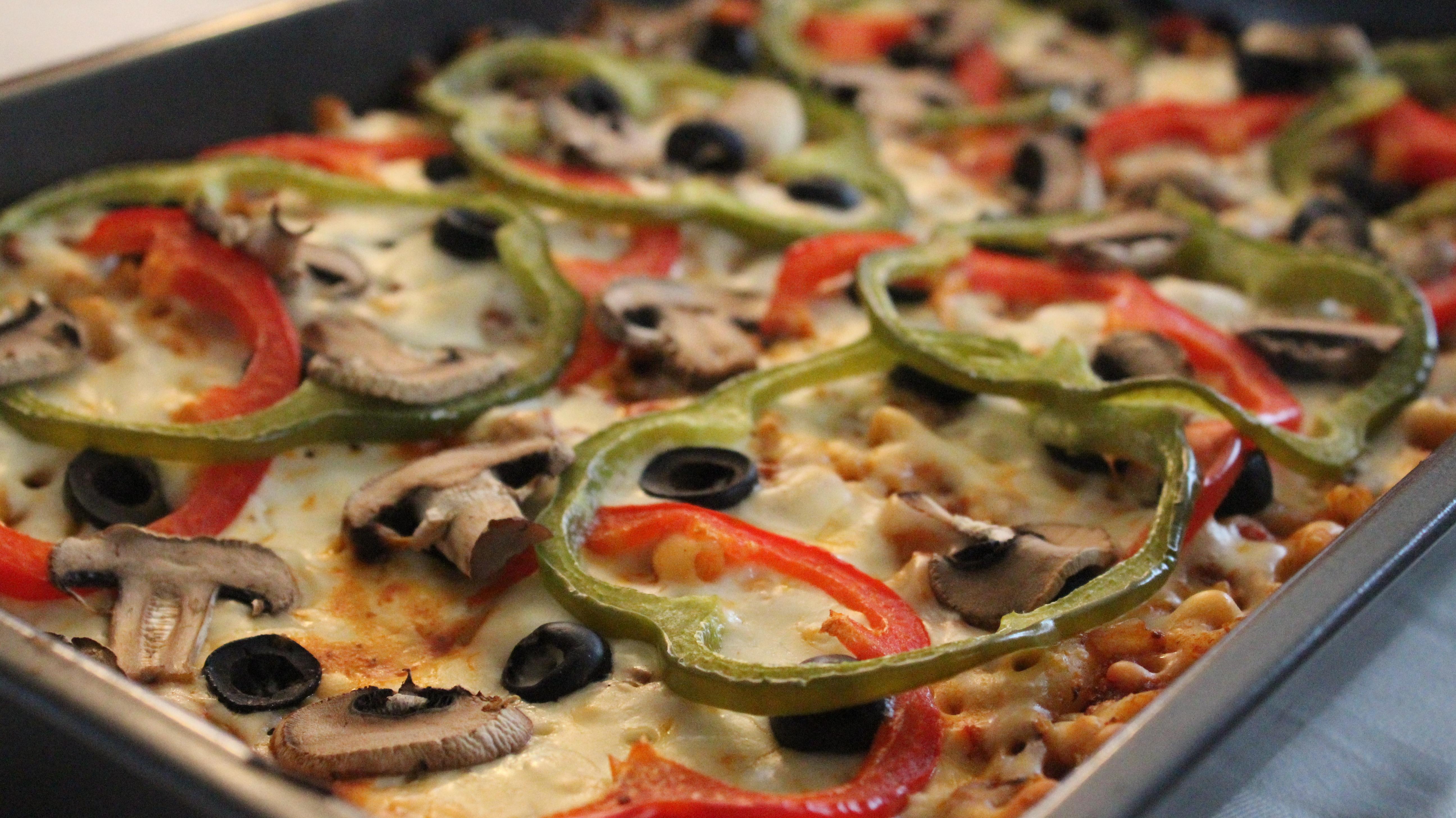 Pasta alla pizza roxanne cuisine - Cuisiner poisson congele ...